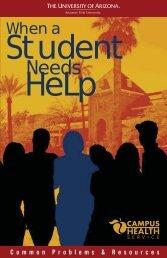 Student - Campus Health - University of Arizona