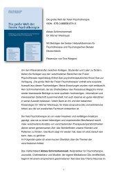 Rezension Freie Psychotherapie Buch