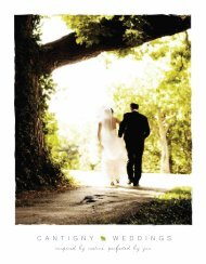 Wedding Packages - Cantigny Golf
