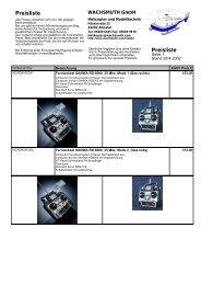 Kunden Preisliste VK3 mit Bilder - Wachsmuth