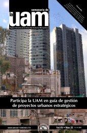 Participa la UAM en guía de gestión de proyectos urbanos ...