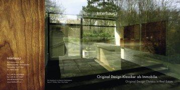 Original Design-Klassiker als Immobilie.
