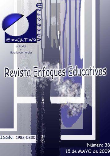 Nº 38 15/05/2009 - enfoqueseducativos.es