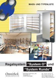 System Rundo - Omnithek Ralf Müller GmbH & Co. KG
