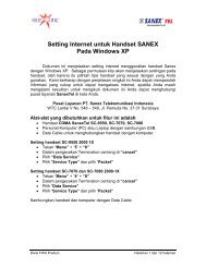 Sanex for Windows XP - Indosat