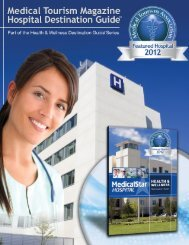 Hospital Destination Guides - Medical Tourism Association