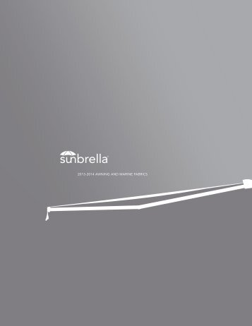 Sunbrella awning marine picture book.indd - NESPA Tiled Spas