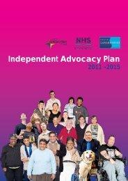 Advocacy Plan 2011-2015 - NHS Lanarkshire