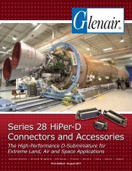 Series 28 HiPer-D Connectors and Accessories