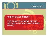 CASE STUDY URBAN DEVELOPMENT: THE ... - Urban LandMark