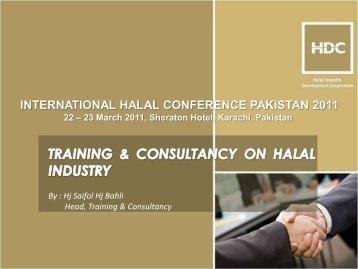 Halal Training