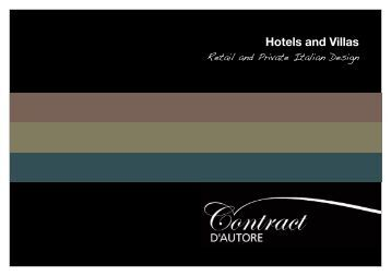 Hotels and Villas - Contract d autore