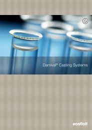 Damival® Casting Systems - Von Roll