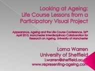 LOOK AT ME! IMAGES OF WOMEN & AGEING A participatory arts ...