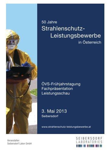 Programm der Frühjahrstagung - Österreichischer Verband für ...