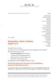 Anschreiben zum Update 5/2008 als PDF-Datei. - RACK ...