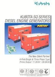 KUBOTA so see/es - Diesel Parts & Services