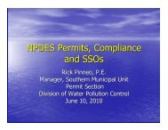 NPDES Permits, Compliance and SSOs - Central States Water ...
