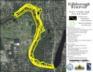 Hillsborough River Bathymetry Map Below 40th St.