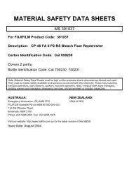 CP-40 FA II P2-RS Bleach Fixer Replenisher Part A - FUJIFILM ...