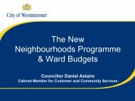 DPA Neighbourhoods Presentation- South.pdf - Westminster City ...