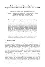 Fully Automated Knowledge-Based Segmentation of the Caudate ...
