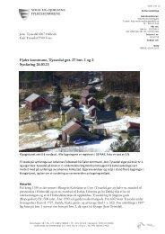 Fjaler kommune, Tyssedal gnr. 27 bnr. 1 og 2 Synfaring 26.03.13