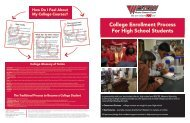 College Enrollment Process For High School Students - Western ...
