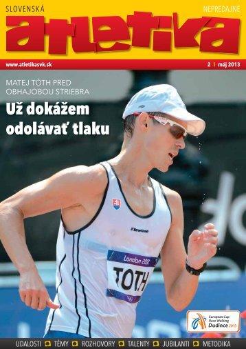 Už dokážem odolávať tlaku - Slovenský atletický zväz