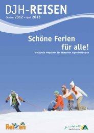 schöne Ferien für alle! - DJH Baden-Württemberg