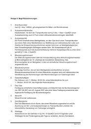 Anlage 6: Begriffsbestimmungen 1. Anschlussnutzer nach § 1 Abs. 3 ...
