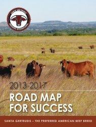 Road Map foR SucceSS - Santa Gertrudis Breeders International