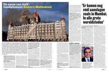 'Er komen nog véél aanslagen zoals in Mumbai. In alle grote ...