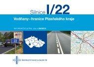 Silnice I/22 Vodňany-hranice Plzeňského kraje - Ředitelství silnic a ...