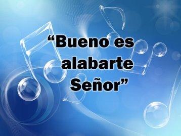 Bueno es alabarte.pdf - Editorial La Paz