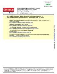 DOI: 10.1126/science.1142612 , 744 (2007); 316 Science et al ...