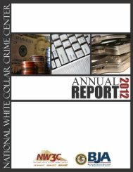 2012 NW3C Annual Report - National White Collar Crime Center