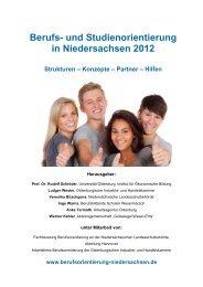 Berufs- und Studienorientierung in Niedersachsen 2012