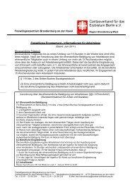 Caritasverband für das Erzbistum Berlin e.V. - Brandenburg an der ...
