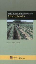 Cultivo de Hortícolas - Ministerio de Agricultura, Alimentación y ...
