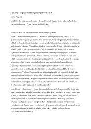 Výzkumy veřejného mínění a jejich využití v médiích - RichardJung.cz