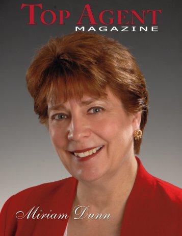 Miriam Dunn - Top Agent Magazine