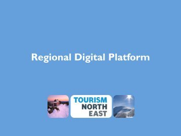 Regional Digital Platform - Tourism North East