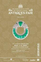 MAy 1–4, 2009 - Merchandise Mart International Antiques Fair