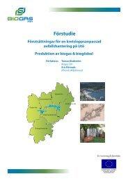 Förutsättningar för en kretsloppsanpassad ... - Biogas Öst