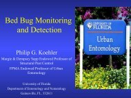 Bed Bug Monitoring and Detection