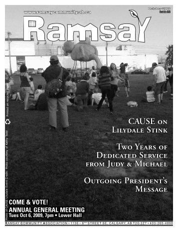 October 2009 - Ramsay Community Association