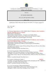 393ª Sessão Ordinária - Conselho Administrativo de Defesa ...