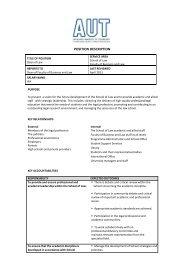 Position Description - Times Higher Education