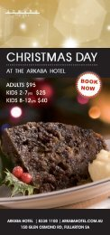 christmas day - Arkaba Hotel